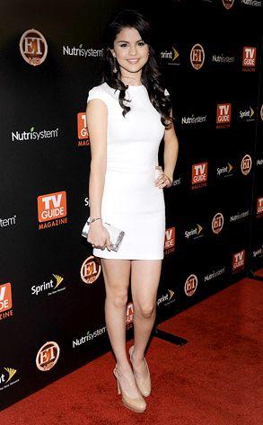 Little White Dress from Selena Gomez's Best Looks | E! Online