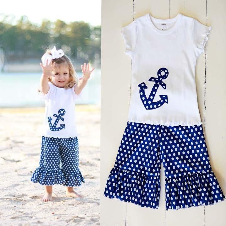 Anchor outfit from Southern Tots. Allyk would look so cute in something like this.