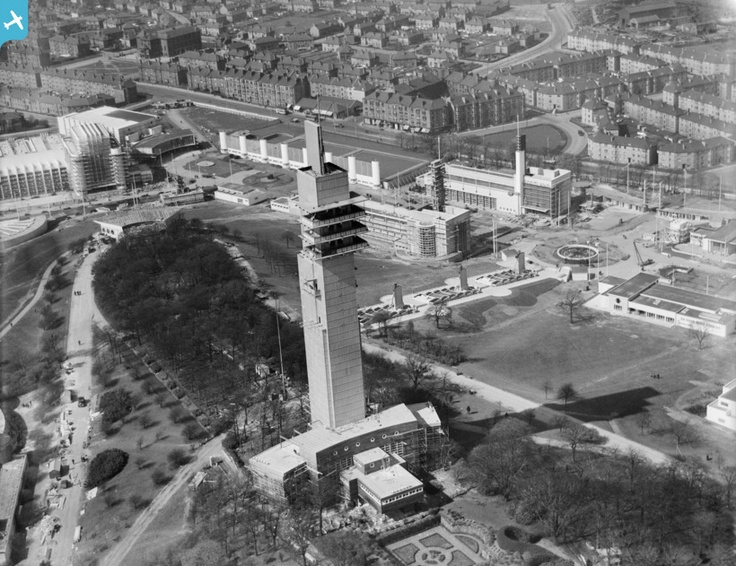 Tower of Empire, 1938 Empire Exhibition, Bellahouston Park, Glasgow,