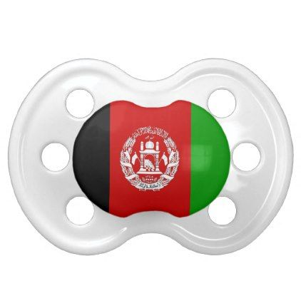 #baby #newborn #pacifiers - #Afghanistan 0-6 month old Flag  Pacifiers
