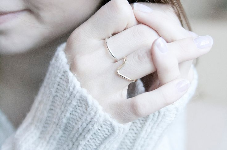 Ring Kombination: Einfach + Knick