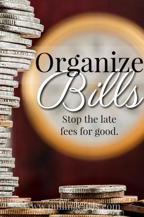 Organize Bills | and mail | monthly | file | paying | ideas | wall | online bill pay