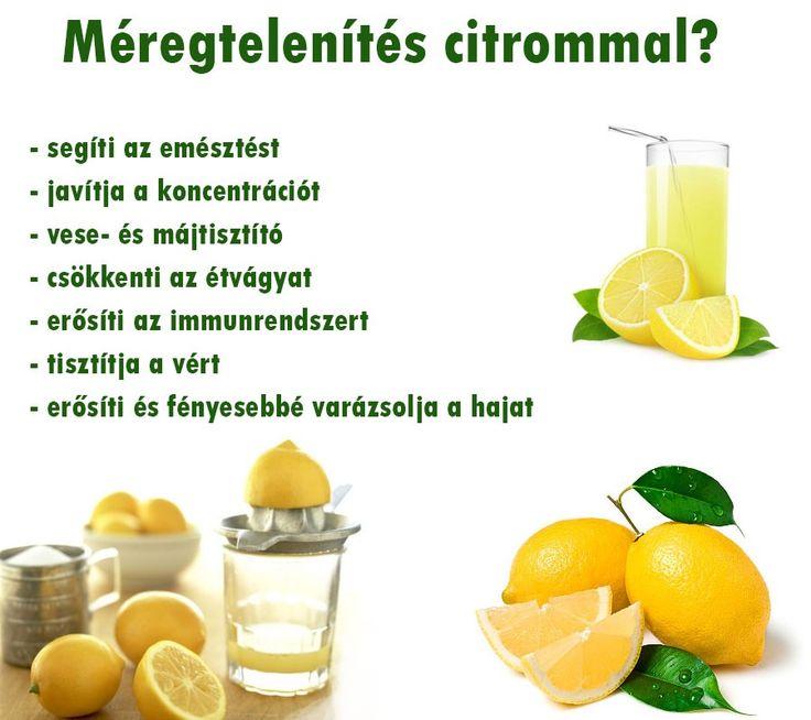 Méregtelenítés citrommal | Socialhealth