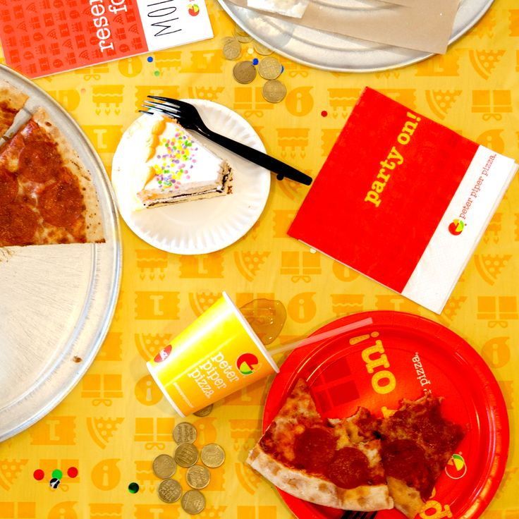The most dreaded part of any party? The cleanup, of course! But at Peter Piper Pizza you need not fret! Let us handle the mess, so you can keep the party going. No one likes to cleanup after a party – book now so you don't have to!