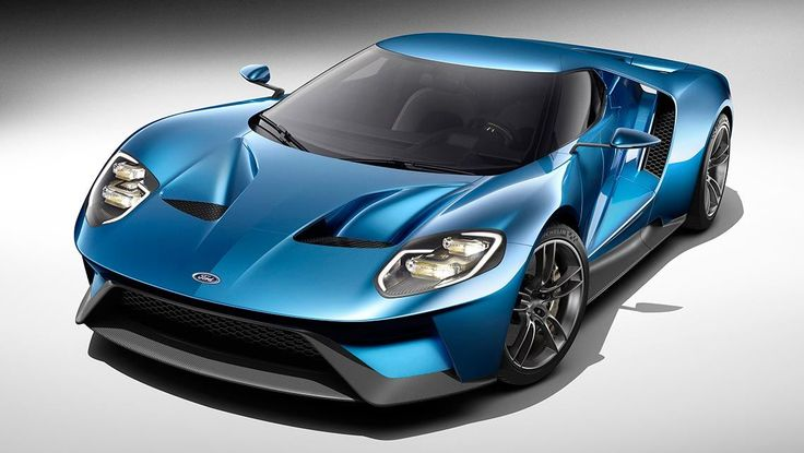 Reborn Ford GT supercar revealed at the 2015 Detroit motor show, set to rival the Lamborghini Huracan, new turbo Ferrari 458 and McLaren 650S.