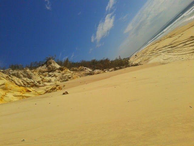 Rainbow beach, Fraser Coast
