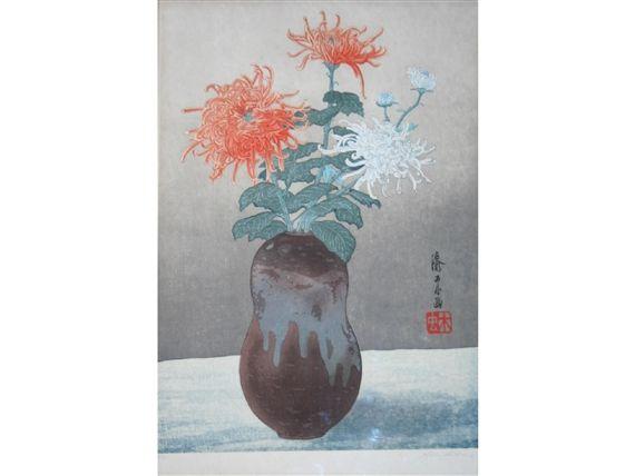 Yoshijiro Urushibara, CHRYSANTHEMUMS