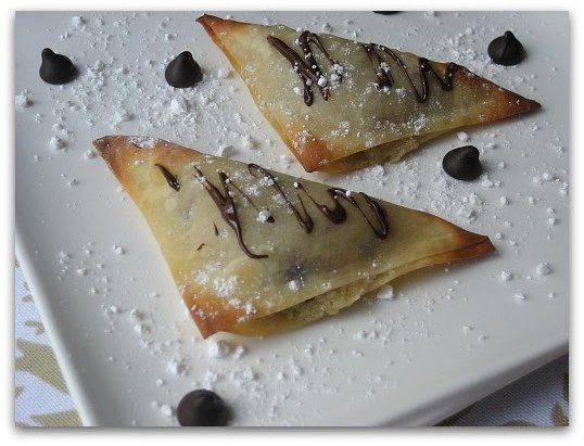 Chocolate Chip Cookie Dough Dessert Wontons: Chocolate Chips, Desserts Wontons, Recipe, Chocolates Chips Cookies, Baking Cookies, Wontons Cookies Dough, Cookies Dough Wontons, Cookie Dough, Cookies Dough Desserts