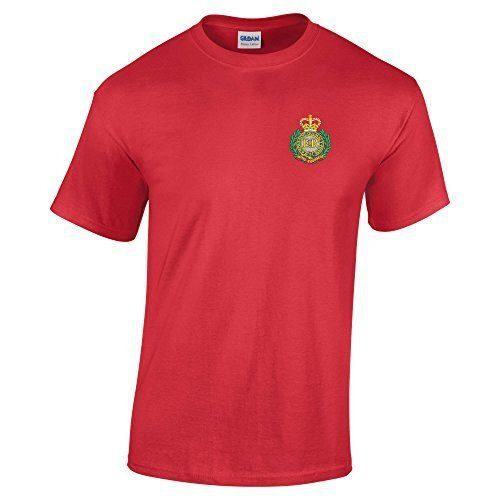 From 8.31 Royal Engineers T-shirt 2x Large - Red