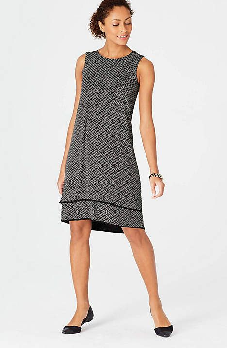 Image for Wearever Layered Elliptical Dress