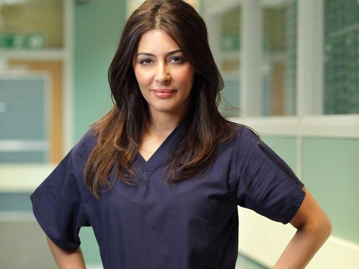 Laila Rouass as the beautiful, talented Dr Sahira Shah