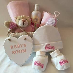 'Little Rattle' Baby Gift Basket