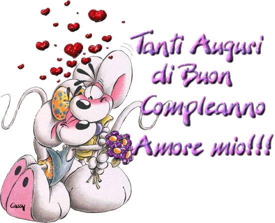 Tanti Auguri de Buon Compleanno Amore mio!!!