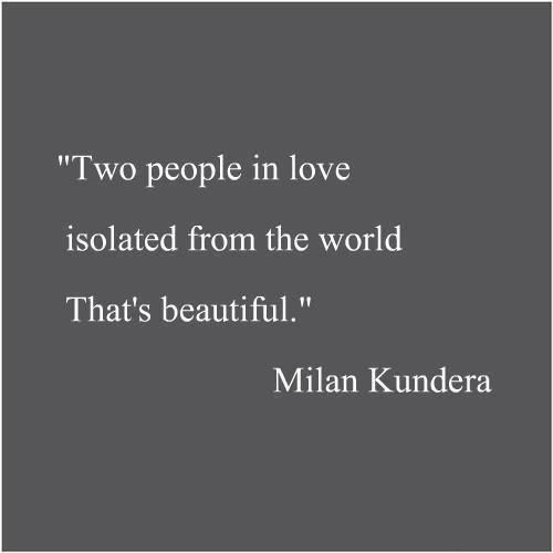 Milan Kundera •
