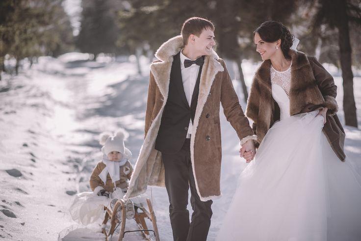 свадьба, детки, мама с дочкой, зима https://vk.com/kristina__art