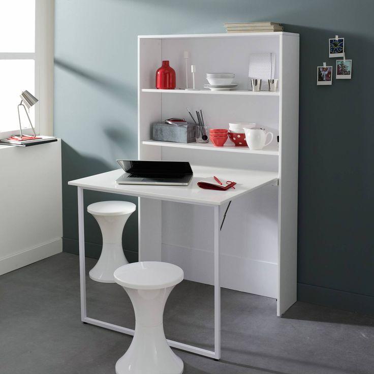 17 meilleures idees a propos de plans de lit escamotable With exceptional meuble cuisine pour studio 0 meuble de rangement avec table escamotable 3 suisses 176