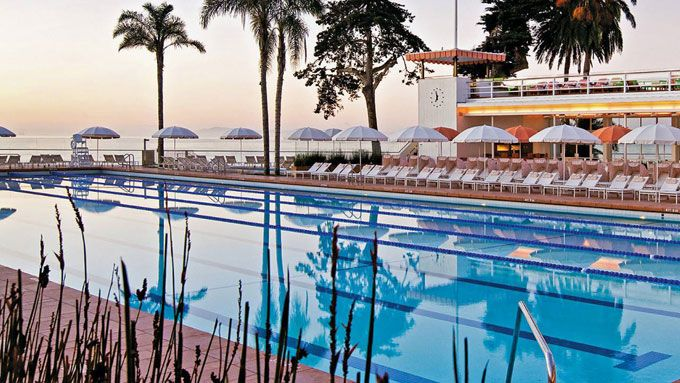 Brides.com: Top 20 Honeymoon Resorts in the United States. 11. Four Seasons the Biltmore Santa Barbara, California. Hollywood-types (Halle Berry, Katy Perry) head here to sunbathe on Butterfly Beach and soak in the lovely Spanish-colonial setting. If you're up for an adventure, borrow the in-house bikes and hit the 3-mile coastal path, or just lounge by the Olympic-size pool.    Rooms from $395, Four Seasons the Biltmore Santa Barbara.
