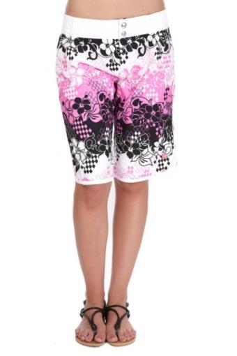 Venta Shiwi / 6427 / Mujer / Shorts y Vestidos / Short de Baño Sunny Rosa y Negro