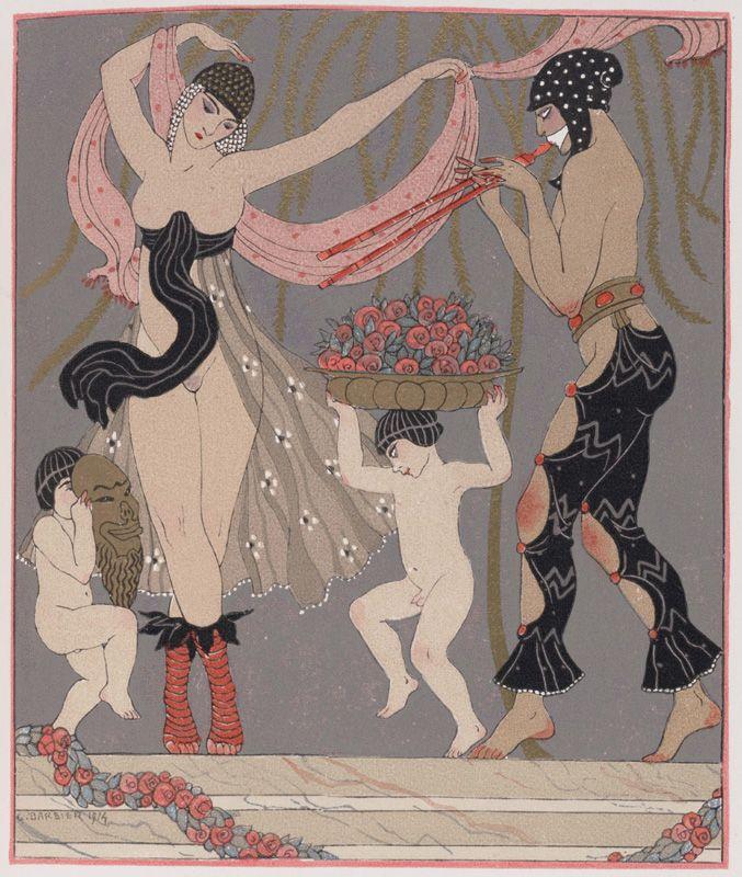 George Barbier (1882–1932). 1914. Pierre Louÿs, Les chansons de Bilitis, Paris…