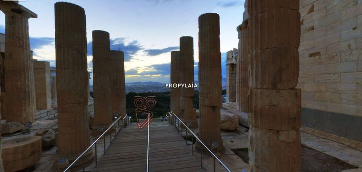 A virtual tour to Acropolis
