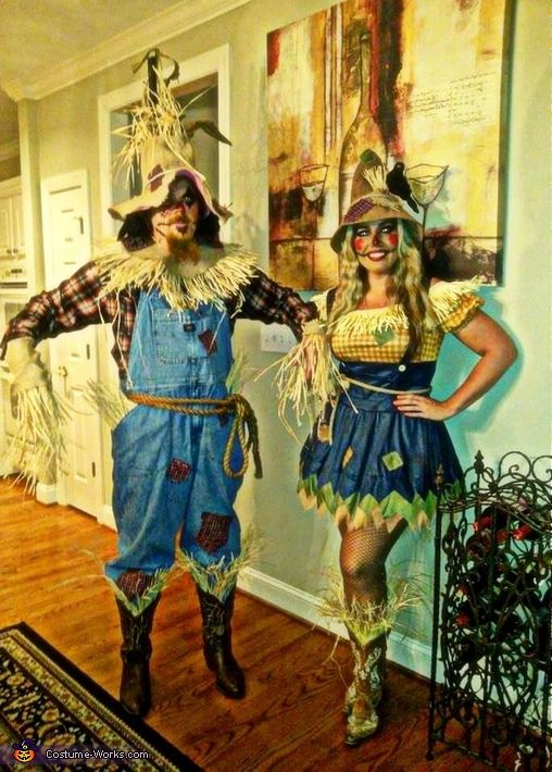 alexandria my boyfriend i decided to go as scarecrows for halloween of 2014 - Halloween Scare Crow