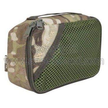 Web-tex Multicam Stash Bag, Small - Survival Kit Containers - Survival Aids - Survival Equipment