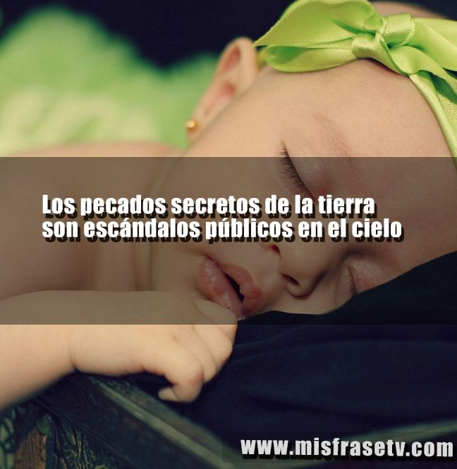 Postales con frases sobre el pecado  visitanos a la pagina www.misfrasetv.com