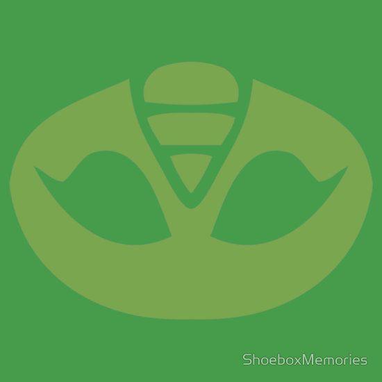 PJ Masks Gekko Crest | T-Shirts and More! | Redbubble | Pj