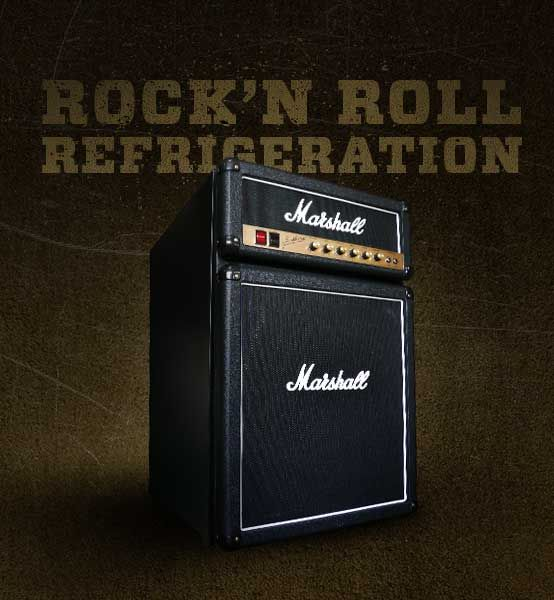 The coolest Marshall Fridge can now be yours.