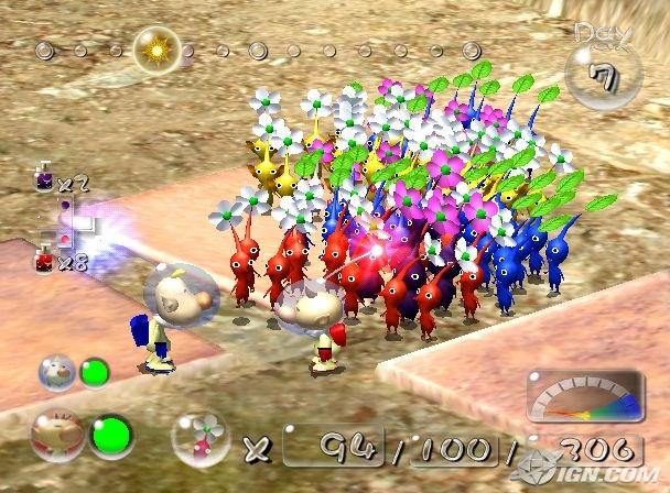 Pikmin 2 Wii Pal Multi5 Christmas Bulbs Christmas Ornaments