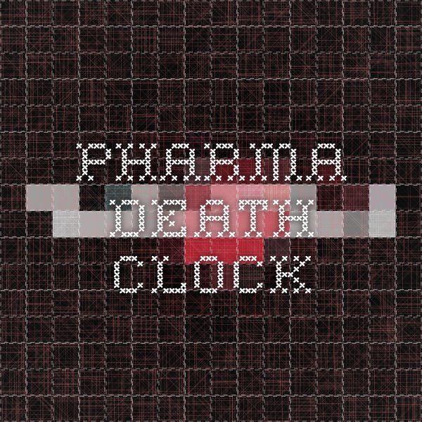 Pharma Death Clock