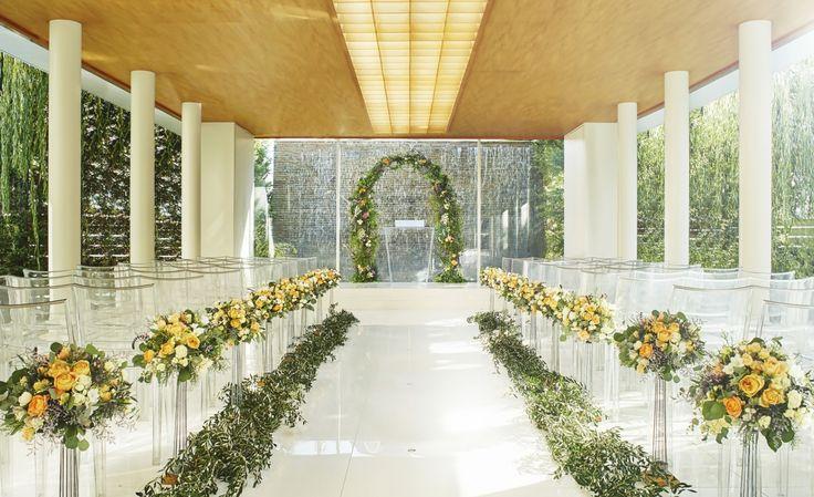 #ashiyamonolith#novarese#vressetrose#wedding #orange #chapel #Flower #Bridal ##結婚準備 #ノバレーゼ#ブレスエットロゼ #芦屋モノリス#ウェディング # チャペル#ナチュラル # ブライダル#教会#説教台#バージンロード#挙式#オレンジ#グリーン