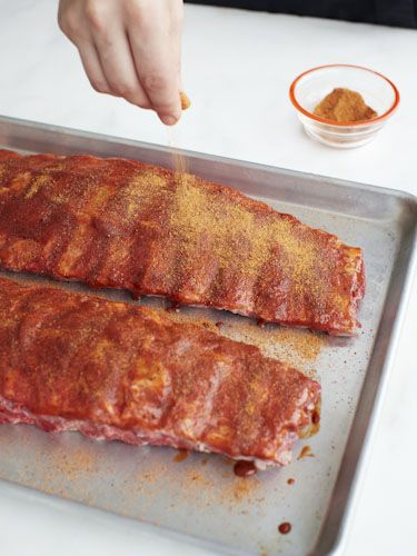 Make ribs the way chefs do, Redbook 9/2013.