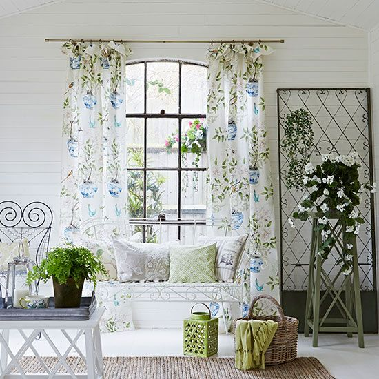 discover how to make a valance curtain with country homes and interiors
