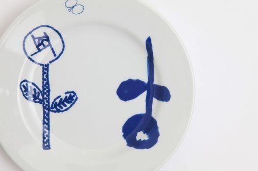 mina perhonen flower plate