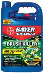 Bayer Advanced Brush Killer 1-Gallon Bottle for $11 w/ Prime  free shipping #LavaHot http://www.lavahotdeals.com/us/cheap/bayer-advanced-brush-killer-1-gallon-bottle-11/207687?utm_source=pinterest&utm_medium=rss&utm_campaign=at_lavahotdealsus