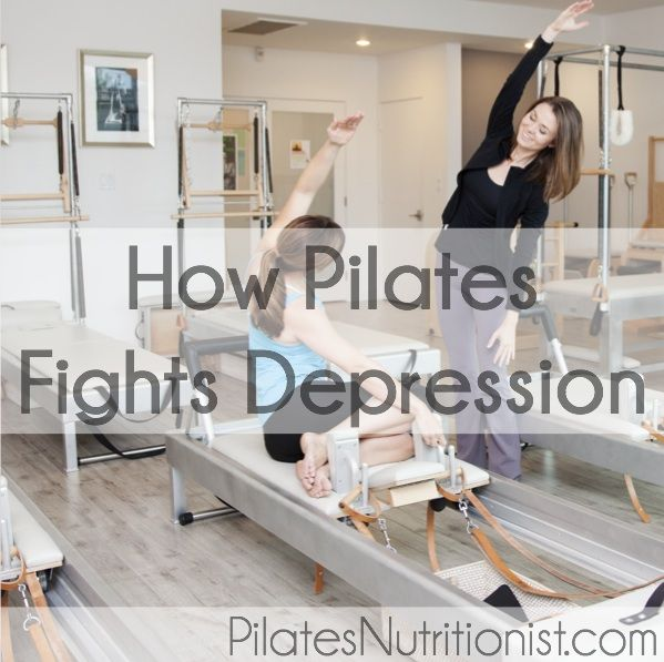 "I came across a research study that actually looked into the mental benefits of Pilates. Now we can add ""Pilates fights depression"" to the list of benefits."