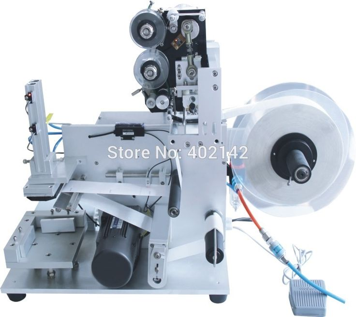 1050.00$  Buy here - http://aliqm0.worldwells.pw/go.php?t=32737873281 -  New Style Sem-automatic Flat Bottle Labeling Machine With Date Printer 1050.00$