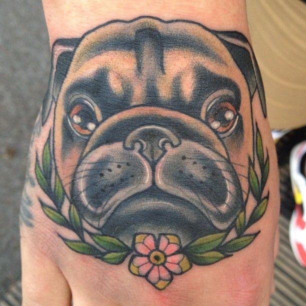 18 best pug tattoos images on pinterest pug tattoo for Funny dog tattoos