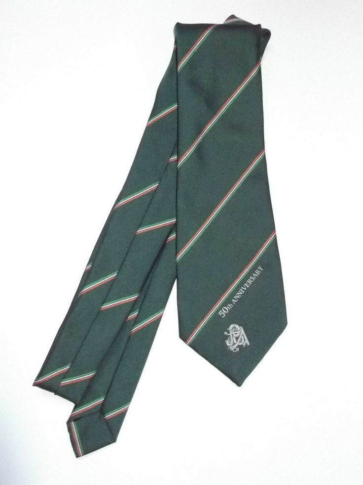 Irish 50th Anniversary Tie Made Exclusively for P.O.A Dublin Ireland