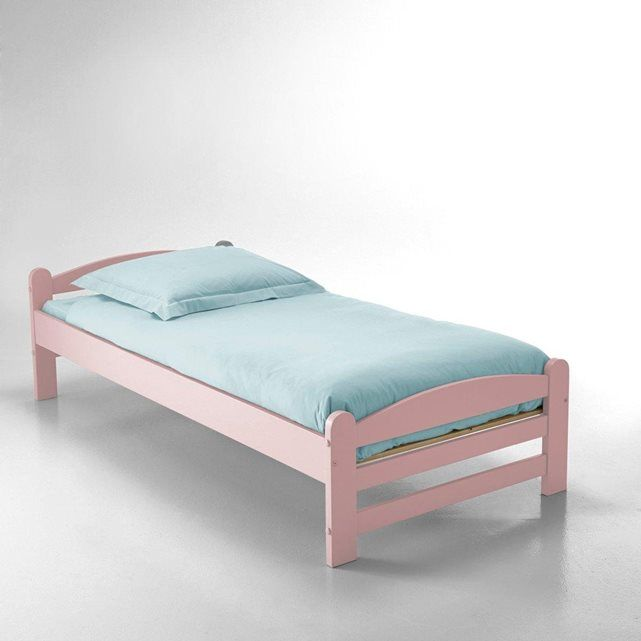 Image LOAN Solid Pine Bed La Redoute Interieurs