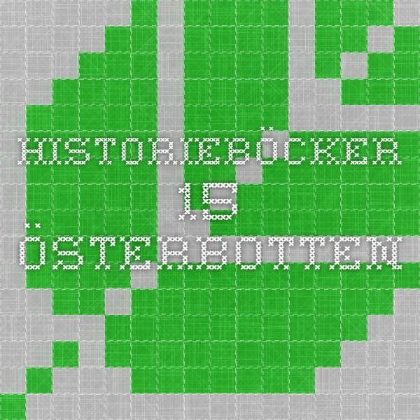 Historieböcker - 15 - Österbotten