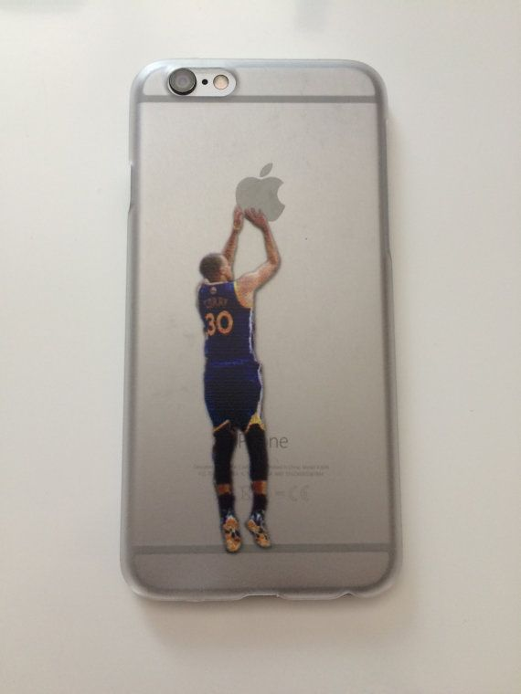 Stephen Curry Shooting Apple Phone Case  iPhone by DillasPeachTops