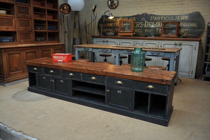 1000 ideas about buffet bas on pinterest meuble bas for Meuble tv 2m long
