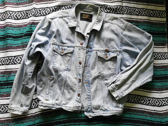 Mira este artículo en mi tienda de Etsy: https://www.etsy.com/listing/286103807/wrangler-the-boss-oversize-denim-jacket