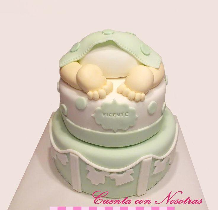 Torta Baby Shower Torta Potito Baby Shower Cake