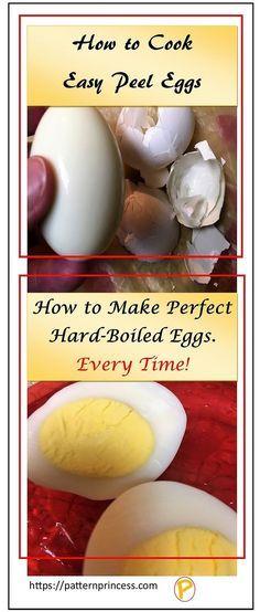 Best 25 easy peel boiled eggs ideas on pinterest how to boil how to cook easy peel hard boiled eggs ccuart Choice Image