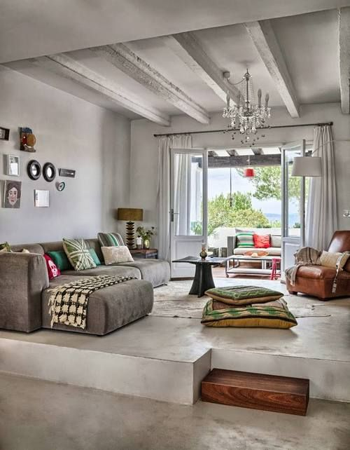 spacious, balanced, and eclectic