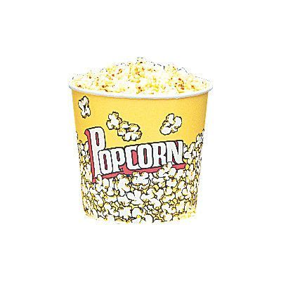 Snappy Popcorn Yellow Popcorn Cups Size: 85 Oz (25 Count)