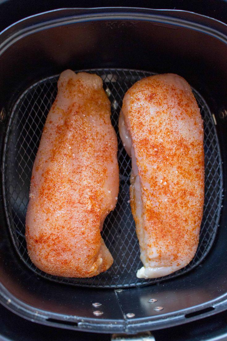 Basic air fryer chicken breasts recipe air fryer